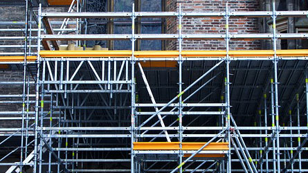 Working at heights covered by scaffolders insurance